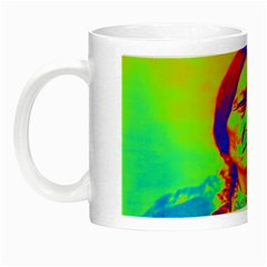Sitting Bull Glow In The Dark Mug