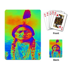 Sitting Bull Playing Cards Single Design by icarusismartdesigns