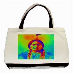 Sitting Bull Classic Tote Bag by icarusismartdesigns