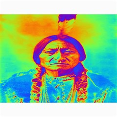 Sitting Bull Canvas 12  X 16  (unframed) by icarusismartdesigns