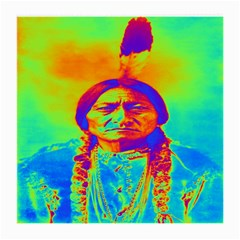 Sitting Bull Glasses Cloth (medium, Two Sided) by icarusismartdesigns