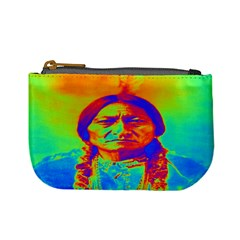Sitting Bull Coin Change Purse by icarusismartdesigns