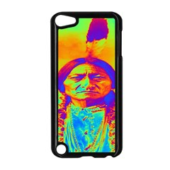 Sitting Bull Apple Ipod Touch 5 Case (black) by icarusismartdesigns
