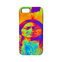 Sitting Bull Apple Iphone 5 Classic Hardshell Case (pc+silicone) by icarusismartdesigns
