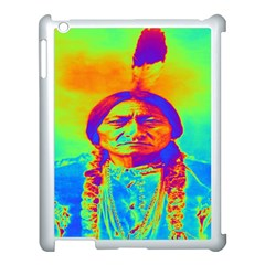 Sitting Bull Apple Ipad 3/4 Case (white) by icarusismartdesigns