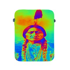 Sitting Bull Apple Ipad Protective Sleeve by icarusismartdesigns