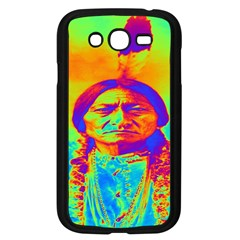 Sitting Bull Samsung Galaxy Grand Duos I9082 Case (black) by icarusismartdesigns