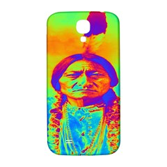Sitting Bull Samsung Galaxy S4 I9500/i9505  Hardshell Back Case by icarusismartdesigns