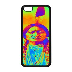 Sitting Bull Apple Iphone 5c Seamless Case (black) by icarusismartdesigns