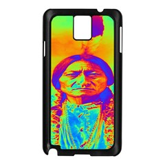 Sitting Bull Samsung Galaxy Note 3 N9005 Case (black) by icarusismartdesigns