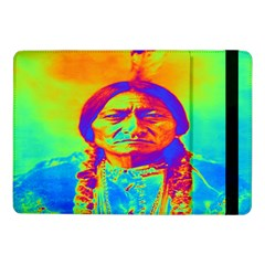 Sitting Bull Samsung Galaxy Tab Pro 10 1  Flip Case by icarusismartdesigns