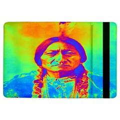 Sitting Bull Apple Ipad Air Flip Case by icarusismartdesigns