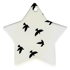 Waterproof Temporary Tattoo      Three Birds Star Ornament by zaasim