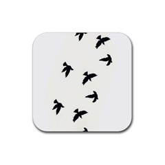 Waterproof Temporary Tattoo      Three Birds Drink Coaster (square) by zaasim