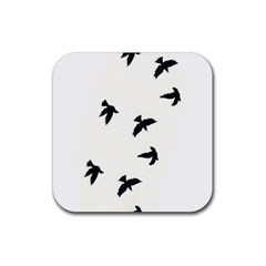 Waterproof Temporary Tattoo      Three Birds Drink Coasters 4 Pack (square) by zaasim