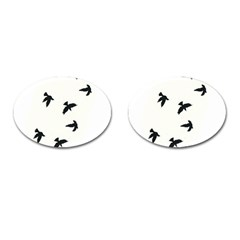 Waterproof Temporary Tattoo      Three Birds Cufflinks (oval) by zaasim