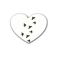 Waterproof Temporary Tattoo      Three Birds Drink Coasters (heart) by zaasim