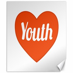 Youth Concept Design 01 Canvas 8  X 10  (unframed) by dflcprints