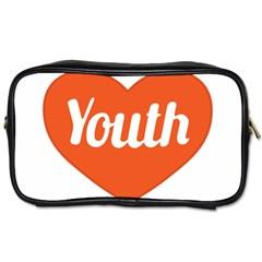Youth Concept Design 01 Travel Toiletry Bag (two Sides) by dflcprints