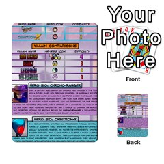 Sentinels Promos Iii (with All Promo Villians) By Charles Fox   Multi Purpose Cards (rectangle)   Enk3kmjtpnbd   Www Artscow Com Front 54