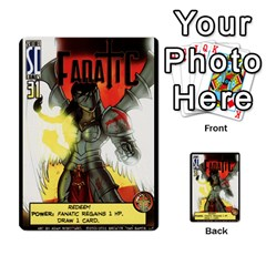 Sentinels Promos Iii (with All Promo Villians) By Charles Fox   Multi Purpose Cards (rectangle)   Enk3kmjtpnbd   Www Artscow Com Front 9