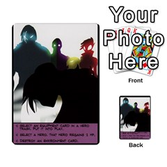 Sentinels Promos Iii (with All Promo Villians) By Charles Fox   Multi Purpose Cards (rectangle)   Enk3kmjtpnbd   Www Artscow Com Back 22