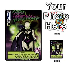 Sentinels Promos Iii (with All Promo Villians) By Charles Fox   Multi Purpose Cards (rectangle)   Enk3kmjtpnbd   Www Artscow Com Front 24