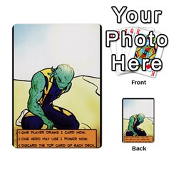 Sentinels Promos Iii (with All Promo Villians) By Charles Fox   Multi Purpose Cards (rectangle)   Enk3kmjtpnbd   Www Artscow Com Back 26