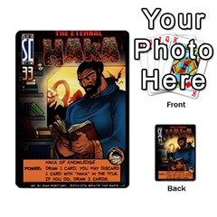 Sentinels Promos Iii (with All Promo Villians) By Charles Fox   Multi Purpose Cards (rectangle)   Enk3kmjtpnbd   Www Artscow Com Front 30