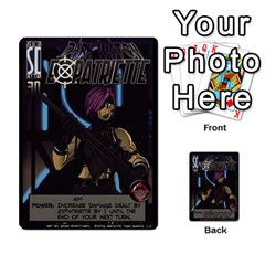 Sentinels Promos Iii (with All Promo Villians) By Charles Fox   Multi Purpose Cards (rectangle)   Enk3kmjtpnbd   Www Artscow Com Front 37