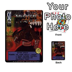 Sentinels Promos Iii (with All Promo Villians) By Charles Fox   Multi Purpose Cards (rectangle)   Enk3kmjtpnbd   Www Artscow Com Front 38
