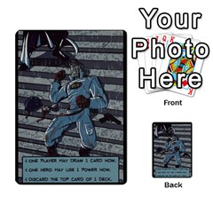 Sentinels Promos Iii (with All Promo Villians) By Charles Fox   Multi Purpose Cards (rectangle)   Enk3kmjtpnbd   Www Artscow Com Back 41