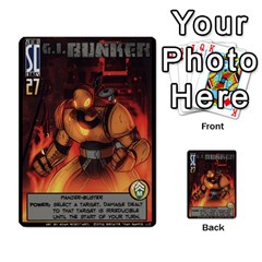Sentinels Promos Iii (with All Promo Villians) By Charles Fox   Multi Purpose Cards (rectangle)   Enk3kmjtpnbd   Www Artscow Com Front 42