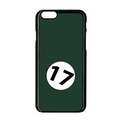 British Racing Green Apple Iphone 6 Black Enamel Case