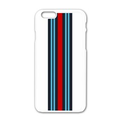 Martini White No Logo Apple Iphone 6 White Enamel Case