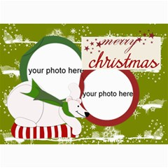 Christmas Photo Cards By Zornitza   5  X 7  Photo Cards   Hosxriqppkh7   Www Artscow Com 7 x5 Photo Card - 2