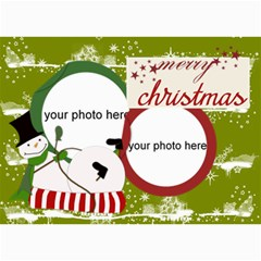 Christmas Photo Cards By Zornitza   5  X 7  Photo Cards   Hosxriqppkh7   Www Artscow Com 7 x5 Photo Card - 7
