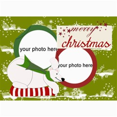 Christmas Photo Cards By Zornitza   5  X 7  Photo Cards   Hosxriqppkh7   Www Artscow Com 7 x5 Photo Card - 10