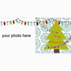 Merry Christmas Cards By Zornitza   4  X 8  Photo Cards   W80j1xuc2ki1   Www Artscow Com 8 x4 Photo Card - 3