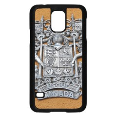 Metal Canada Coat of Arms Samsung Galaxy S5 Case (Black) by stineshop