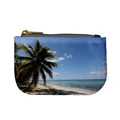 Isla Saona Caribbean Paradise Beach Coin Change Purse by stineshop