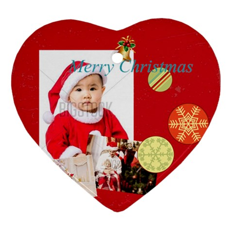 Xmas By Xmas   Ornament (heart)   Ht2pjvu3y4ph   Www Artscow Com Front