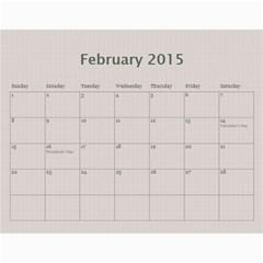 A Family Story Calendar 18m 2015 By Daniela   Wall Calendar 11  X 8 5  (12 Months)   X6lpvmfepwaj   Www Artscow Com Feb 2015