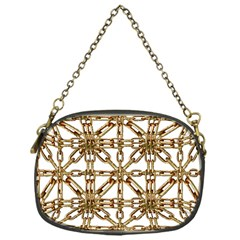 Chain Pattern Collage Chain Purse (one Side) by dflcprints