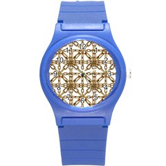 Chain Pattern Collage Plastic Sport Watch (small) by dflcprints