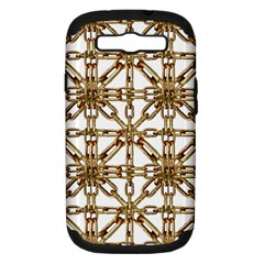 Chain Pattern Collage Samsung Galaxy S III Hardshell Case (PC+Silicone) by dflcprints