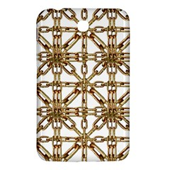 Chain Pattern Collage Samsung Galaxy Tab 3 (7 ) P3200 Hardshell Case  by dflcprints