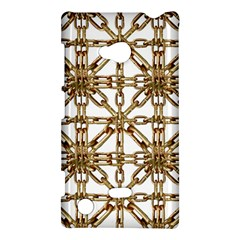 Chain Pattern Collage Nokia Lumia 720 Hardshell Case by dflcprints