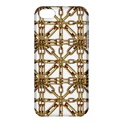 Chain Pattern Collage Apple Iphone 5c Hardshell Case by dflcprints