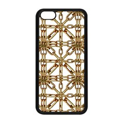 Chain Pattern Collage Apple Iphone 5c Seamless Case (black) by dflcprints
